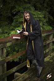 Magician Robe - Epic Zwart/Goud