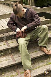 SALE Kinderbroek, 8 t/m 10 jaar - Basic Pants, Groen