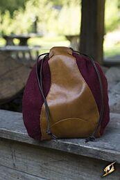Merchant Purse - Rood/Bruin