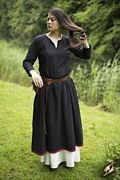 Basic Dress - Epic Zwart/Donkerrood