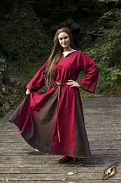 Dress Astrid – Rood/Bruin