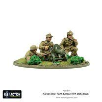 North Korean KPA MMG team