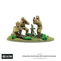 North Korean KPA medium mortar team