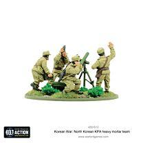 North Korean KPA heavy mortar team