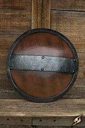 Braced Shield - Wood/Steel, ø60cm