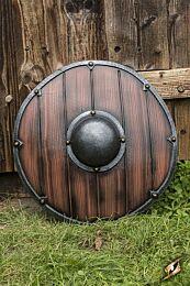 Viking Shield - Wood/Steel, ø50cm