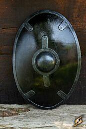 Auxillary Shield - Zwart, 90x60cm