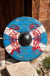 Iarla Shield - Huginn & Muninn - 70 cm