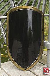 RFB Kite Shield - Zwart/Goud, 60x36cm