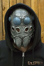 Spider Trophy Mask - Steel/Black, One-Size