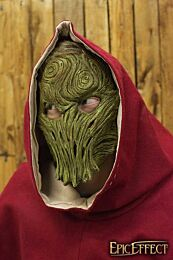 Wood Trophy Mask - Brown, One-Size