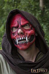Skull Trophy Mask Ð Rood, One-Size