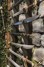Display - Sword Wall Racking
