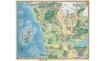Faerun - Realm and Sword Coast Map