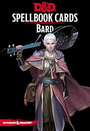 D&D Spellbook Cards: Bard Deck (128 Cards)