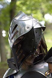 CQ Zwart Ice Helmet - Staal/Zwart