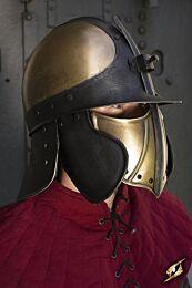 CQ Ratio Helmet -  Messing/Zwart