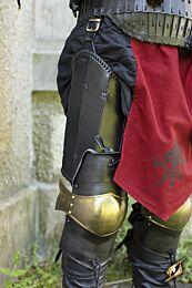 Ratio Leg Protection - Brass/Black