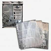 9-Pocket Pages - Clear - Top Loading - per stuk