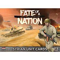 Syrian Unit Cards