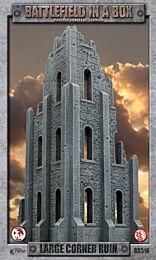 Gothic Battlefields – Large Corner Ruin