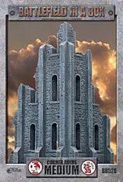 Gothic Battlefields –  Medium Corner Ruins