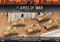 Honey Armoured Troop (Plastic)