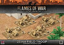 25pdr Field Troop (Plastic)