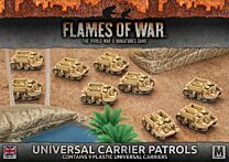 Universal Carrier Patrols (Plastic)