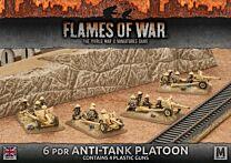 6pdr Anti-tank Platoon (Plastic)