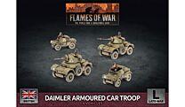 Daimler Armoured Car Troop (Plastic)