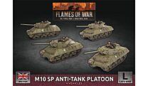 M10 SP Anti-Tank Troop (x4 Plastic)