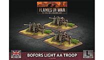 Bofors Light AA Troop (x3 Plastic)
