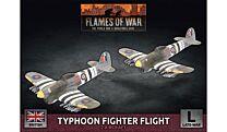 Typhoon Fighter-Bomber Flight (x2 Plastic)