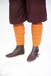 Beenwindsels wol gebreid, Askil - Oranje