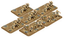 MMG Platoon & Mortar Section (plastic)
