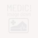 Fairy mini Dice RPG Set - BiColor Black Orange (7 Dice)