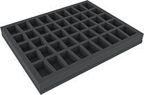 35mm Full-size foam tray met 45 vakjes