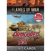 Armoured Fist Unit Cards