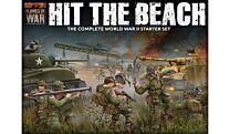 Hit The Beach Army Set (German & American 11x Tanks, 2x Guns, 96x figs - Plastic)