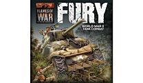 FURY Starter Set (1x Tiger, 1x STUG, 2x Sherman's, 1x M10 - Plastic)