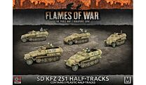 Sd Kfz 251 Transport (x5 plastic halftracks)