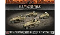 Armoured Flame-Thrower Platoon (x4 halftracks)