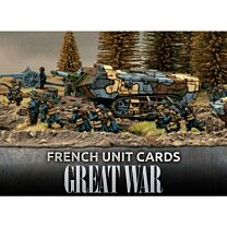 French Great War Unit Cards