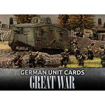 German Great War Unit Cards