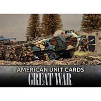 American Great War Unit Cards
