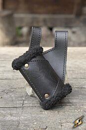 Holder - Black Fur, Zwart/Zwart