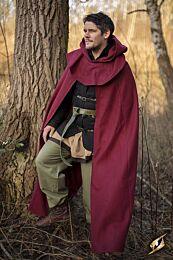 Cloak Wool – Donkerrood
