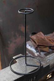 Helmet Stand Metal - Zwart