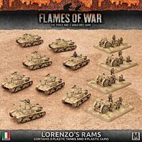 Lorenzo's Rams Italian Army Deal